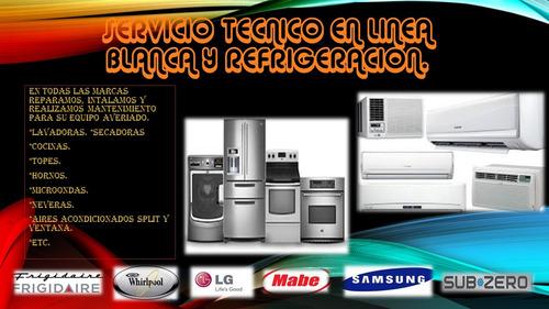 reparacion y mantenimiento refrigeracion y linea blanca