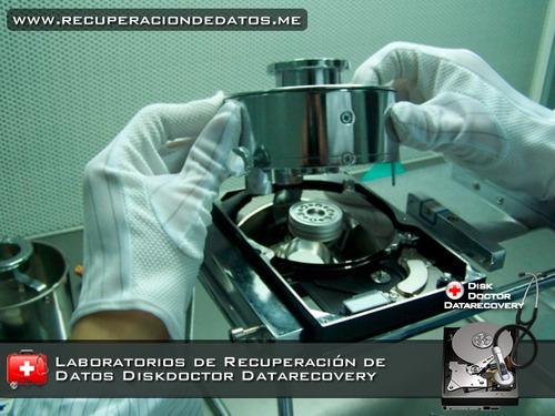 reparación y recuperación de datos discos duros en raid