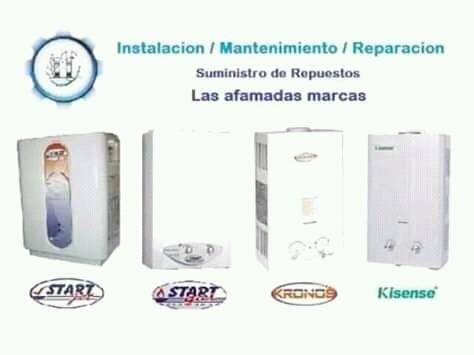 reparación y repuestos de calentadores