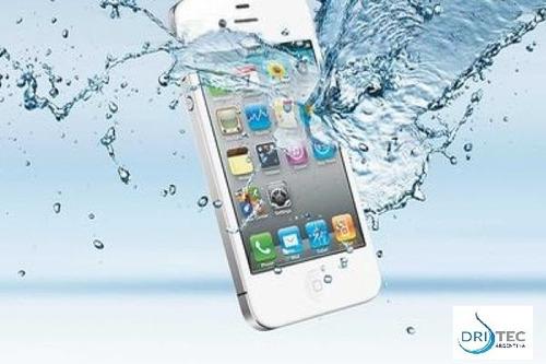 reparación y secado iphone / ipod mojado en el acto