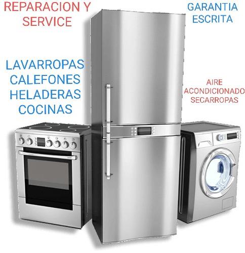 reparacion y service calefones-lavarropas-heladeras