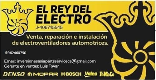 reparación y servicio de electroventiladores automotriz