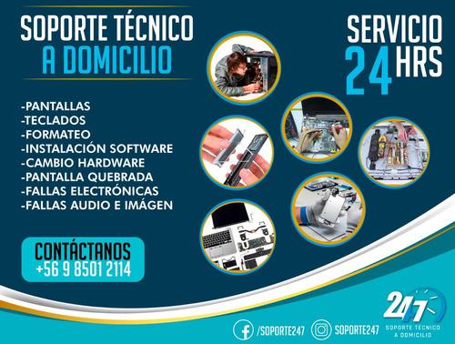 reparacion y servicio tecnico a domicilio pc/mac