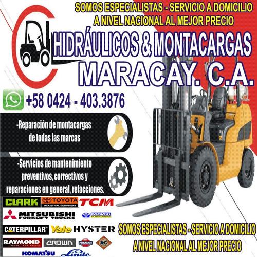 reparación y servicio técnico de montacargas