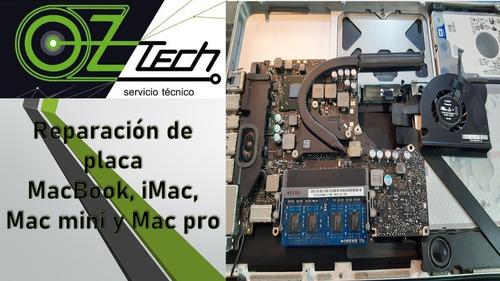 reparación y servicio técnico imac mac notebook