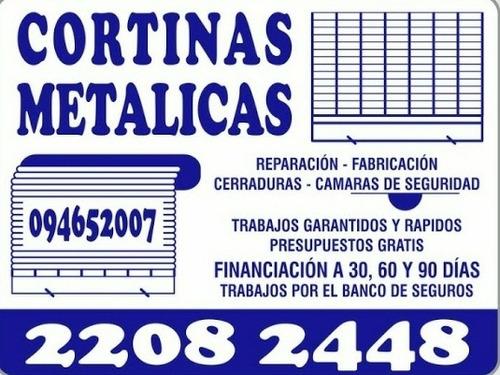 reparacion y urgencias cortina metálica pvc plastico