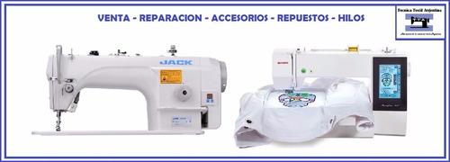 reparacion y venta de maquinas de coser, cortar y bordar