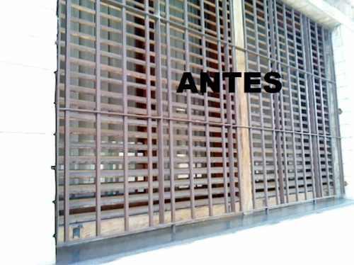 reparación y venta de  persianas en  madera pvc y aluminio