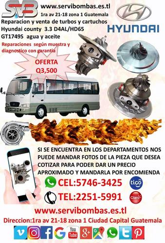 reparacion y venta de turbo hino j08 gt3576 garrett guatemal