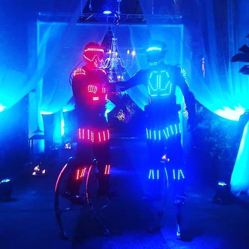 reparacion zapatillas led,confeccion,vestuarios,robot led
