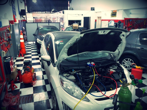 reparación/carga aire acondicionado auto/camioneta zona sur
