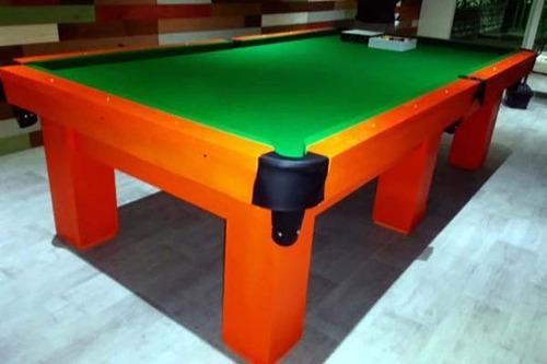 reparaciones de mesas de pool, cambio de paño y restauración