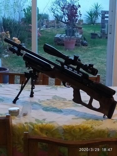 reparaciones de rifles deportivos a base de aire comprimido