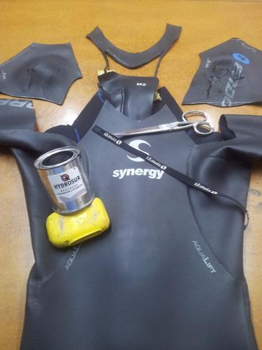 reparaciones de trajes de neoprene surf buceo kitesur tria