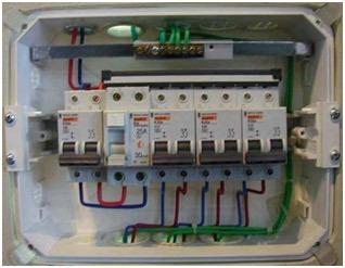 reparaciones eléctricas.
