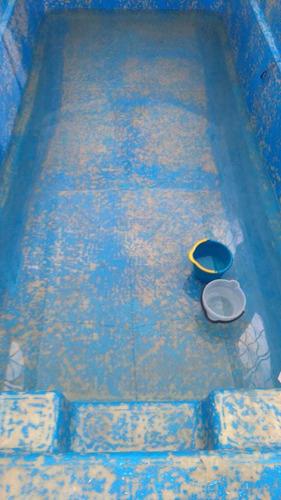reparaciones, pinturas piletas de fibra de vidrio y hormigon