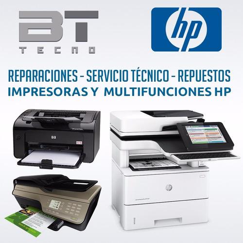 reparaciones servicio técnico impresoras y multifunciones hp