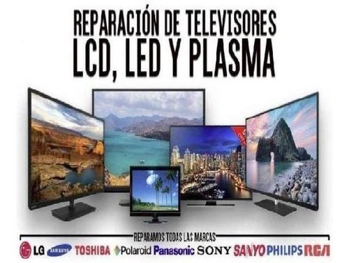 reparaciones tv led y audio - visitas técnicas