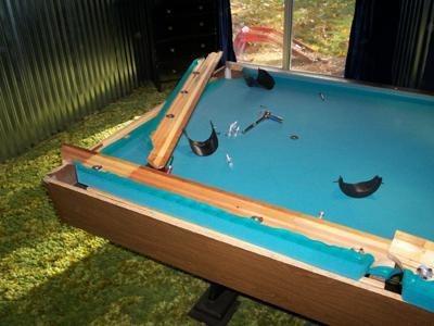 reparaciones y mantenimiento a toda clases de mesa de pool