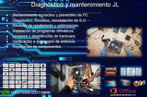 reparaciones y mantenimiento de computadores