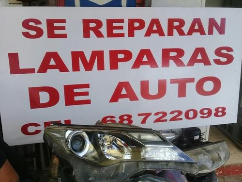 reparaciones ....y  modificaciones de lamparas de autos ...