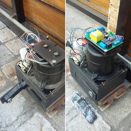 reparacion,instalacion y mantencion de motor de portón