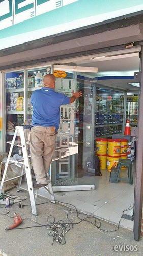 reparacion,mantenimiento,puertas vidrio frenos tecnicos