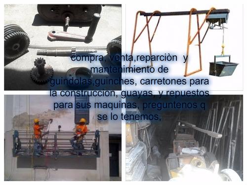 reparacion,restauracion,mantenimiento de guindolas y guinche