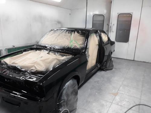 reparação e pintura automotiva