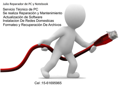 reparador de pc y notebook