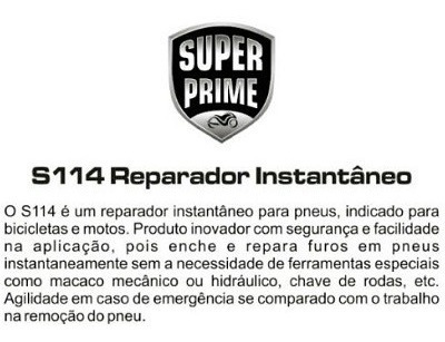reparador de pneu (150ml) s114 todas super prime
