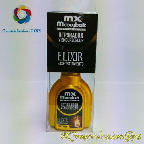 reparador y endurecedor - elixir base tratamiento x 13 ml
