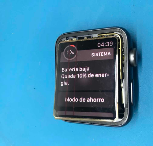 reparamos de pantalla apple watch serie 4 y 5