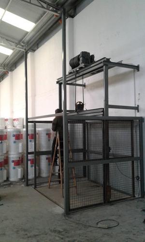 reparamos instalamos y fabricamos montacargas y ascensores