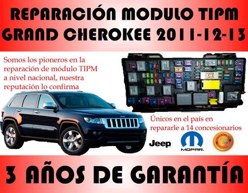reparamos modulo tipm jeep gran cherokee 2011-2012-2013
