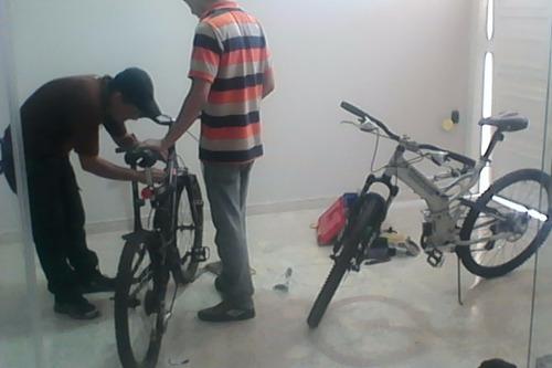 reparamos multifuerzas, caminadoras y bicicletas a domicilio