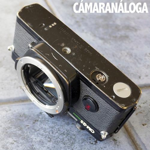 reparar, partes: cámara olympus om-2s. desarme.
