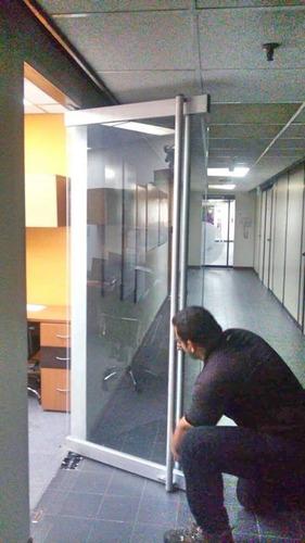/repararacion mantenimientos para puertas de vidrio frenos