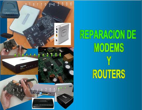 reparción de modem y routers