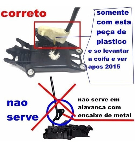 reparo alavanca câmbio ford new fiesta/ka/ecosport apos 2015