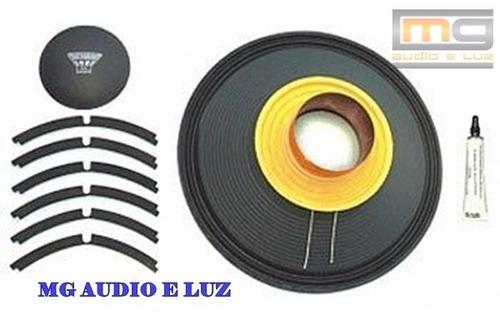 reparo alto-falante oversound 12 steel 400 - 8 ohms original