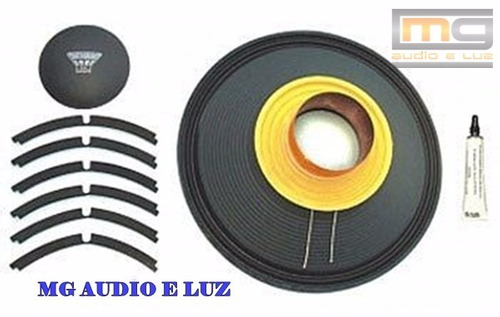 reparo alto-falante oversound 12 steel 400 original - 8 ohms