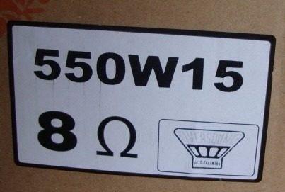 reparo alto-falante oversound 15  550w/15