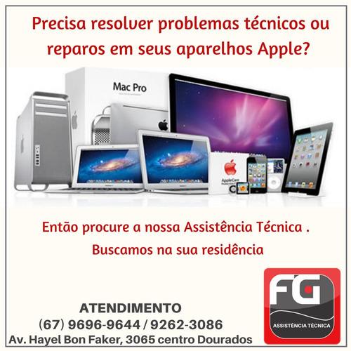 reparo, assistência e manutenção de macbook