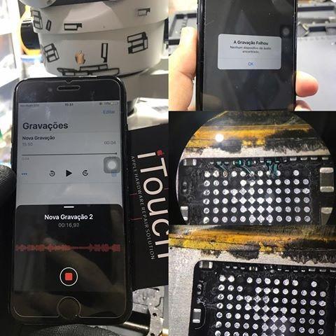 reparo avançado em placas apple iphone