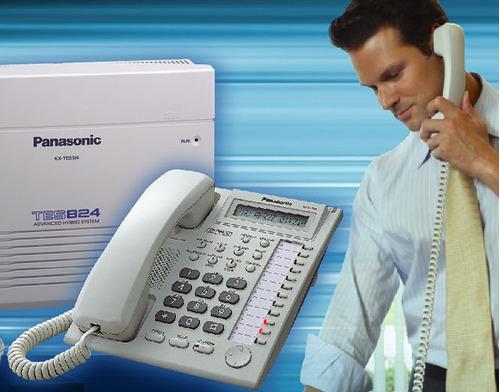 reparo averías lineas telefónicas,centrales panasonic.progra