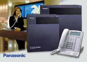 reparo averías telefónicas, centrales panasonic programacion