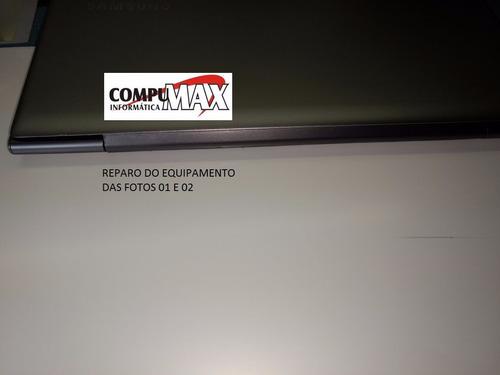 reparo / conserto dobradiça tampa carcaça ultrabook np530u3c