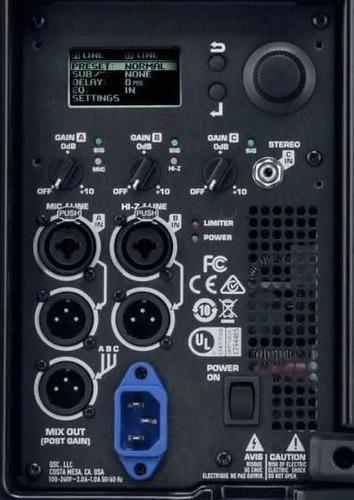 reparo em  caixas amplificadas qsc k e tambm k.2