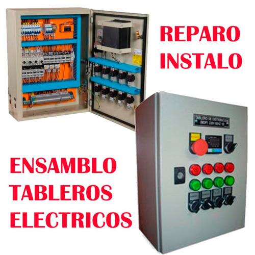 reparo ensamblo tableros electricos